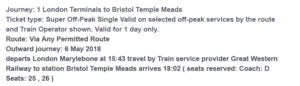Great Western Railway bad text copy